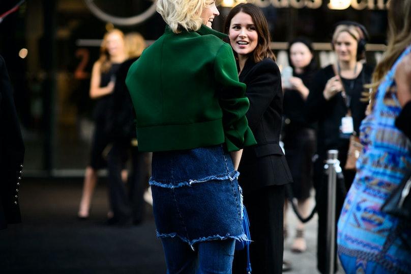 Mercedes Benz Fashion Week Australia Street Style Day 1