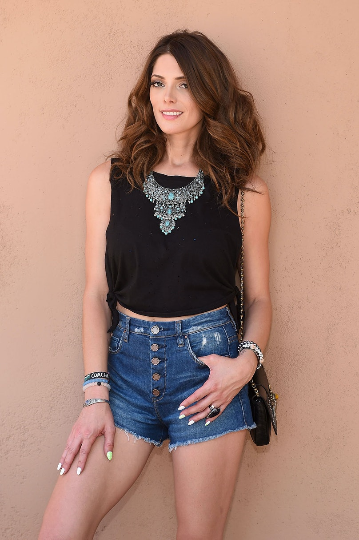 Ashley Greene at Coachella Music Festival. Stefanie Keenan/Getty Images for Forever 21.