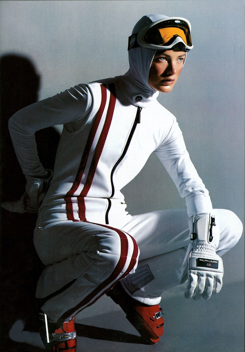 sporty outerwear shoot from Vogue