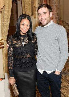 Monique Pean and Chris Gelinas
