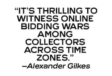 Alexander Gilkes, Paddle8