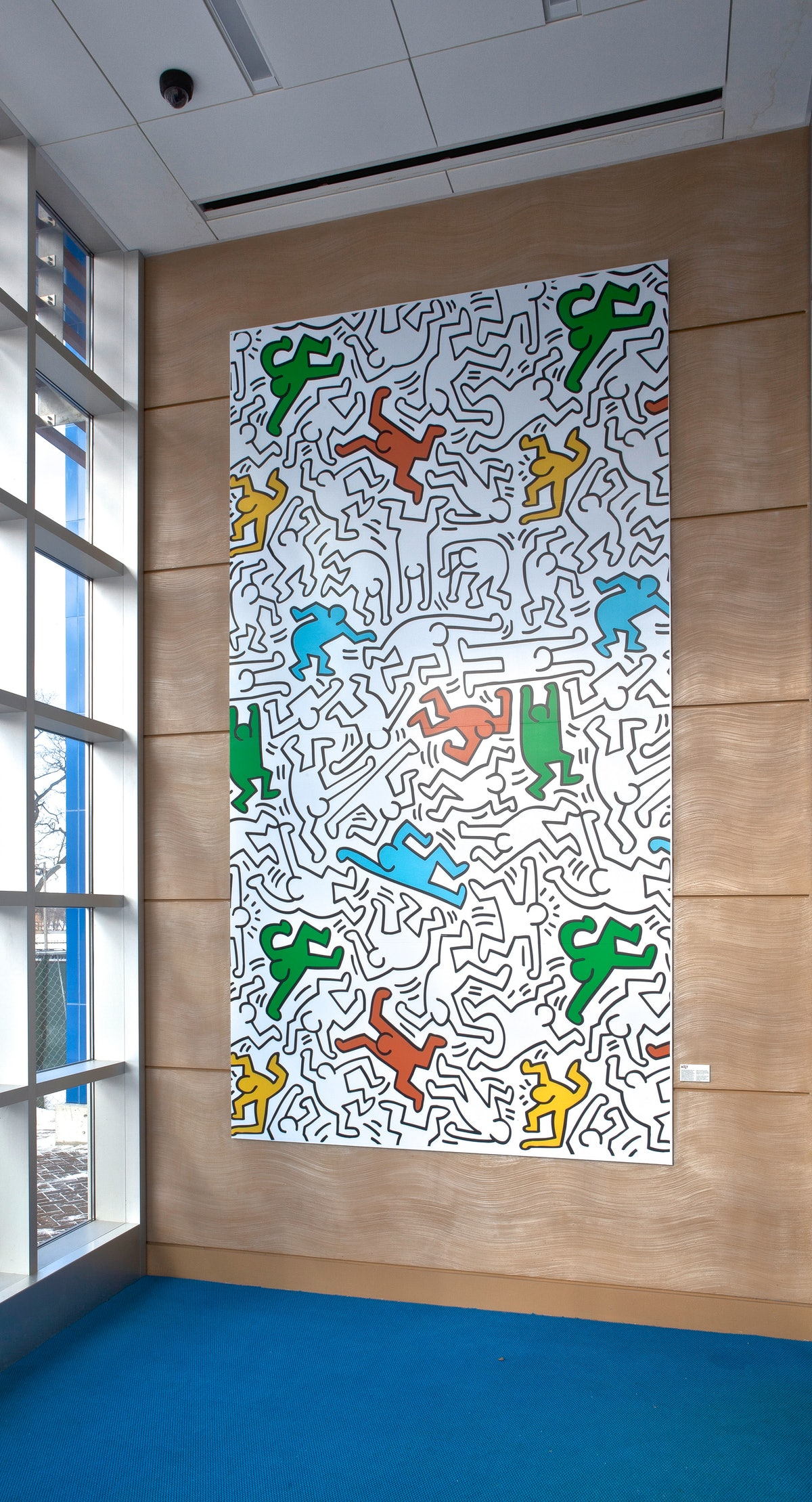Keith Haring at La Rabida Children's Hospital