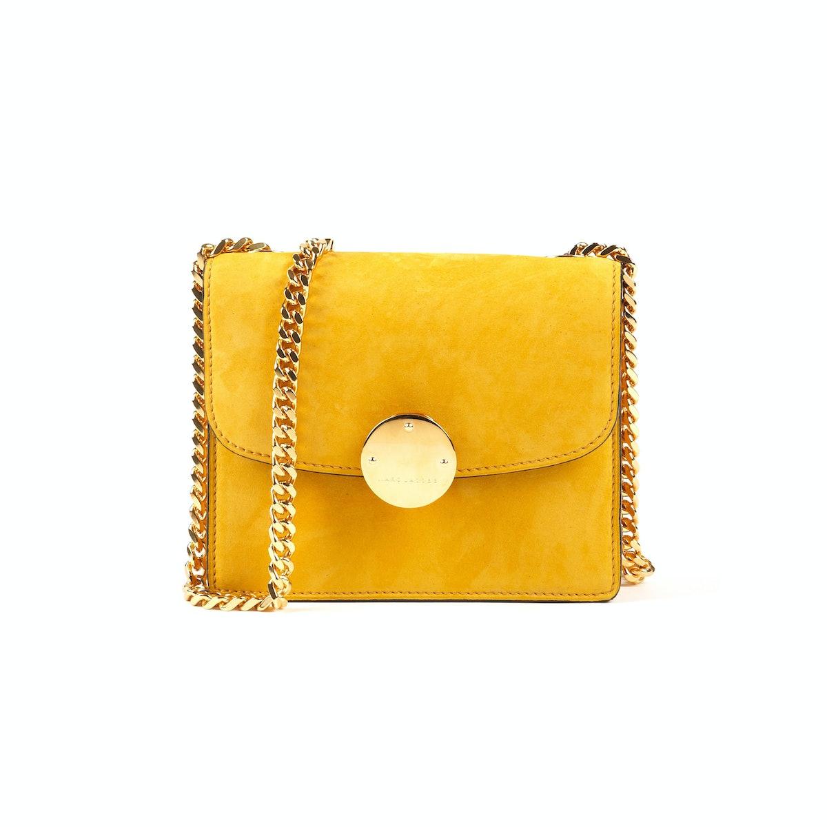 Yellow Marc Jacobs bag