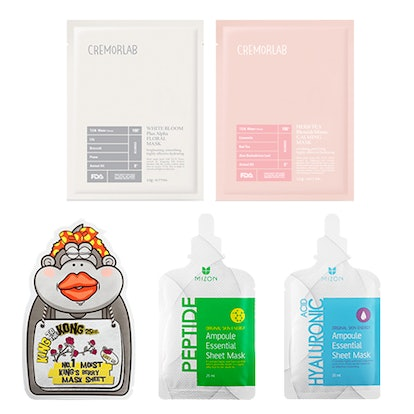 Peach and Lily Sheet Mask Bundle Power Combo Pack