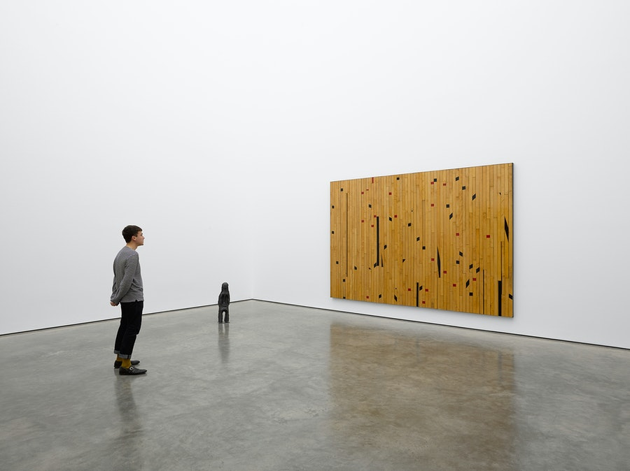 Theaster Gates Freedom of Assembly White Cube