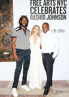 Rashid Johnson , Liz Hopfan, and Hank Willis Thomas