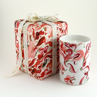 A Vivid and Wild Beauty candle