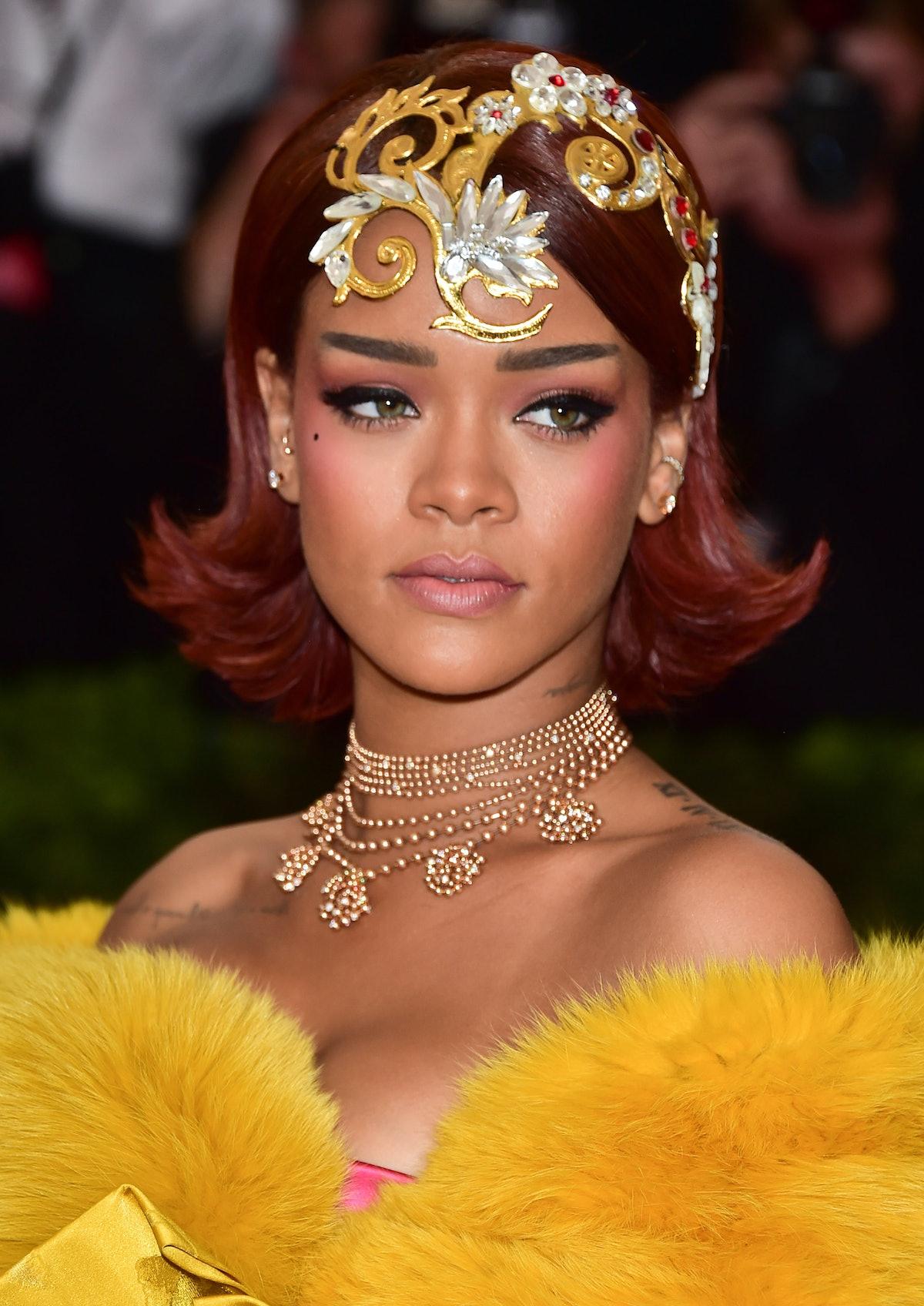 Rihanna's Met Ball Beauty