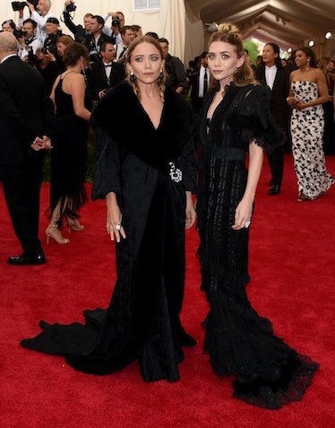 Mary Kate and Ashley Olsen's Met Ball Beauty