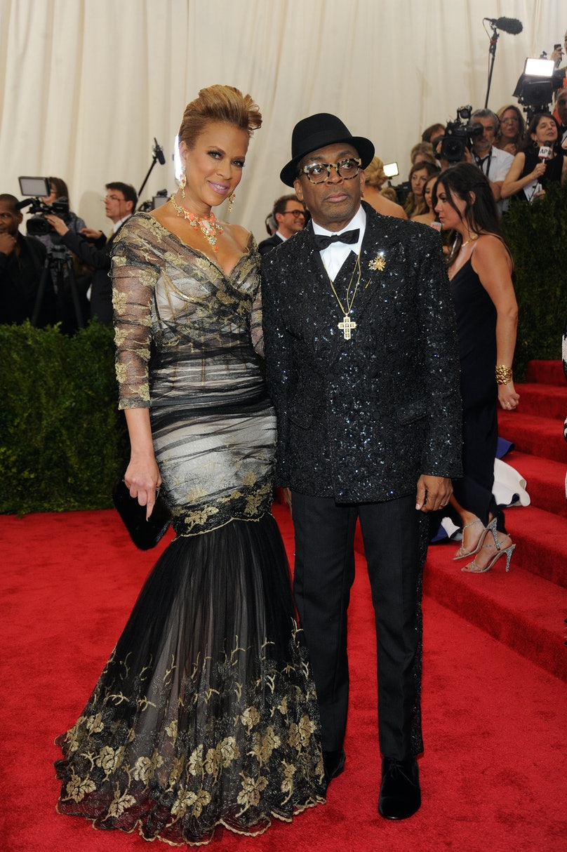 Tonya Lewis and Spike Lee