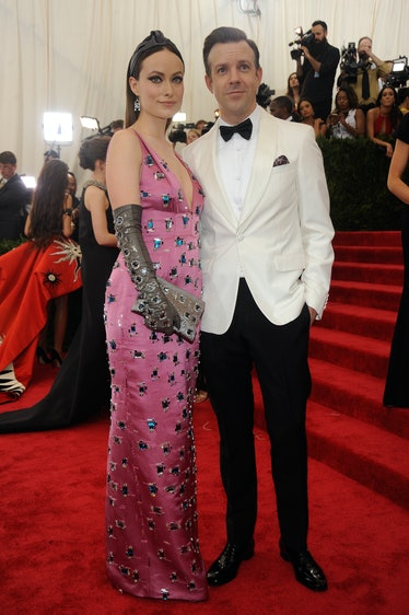 Olivia Wilde and Jason Sudeikis in Prada
