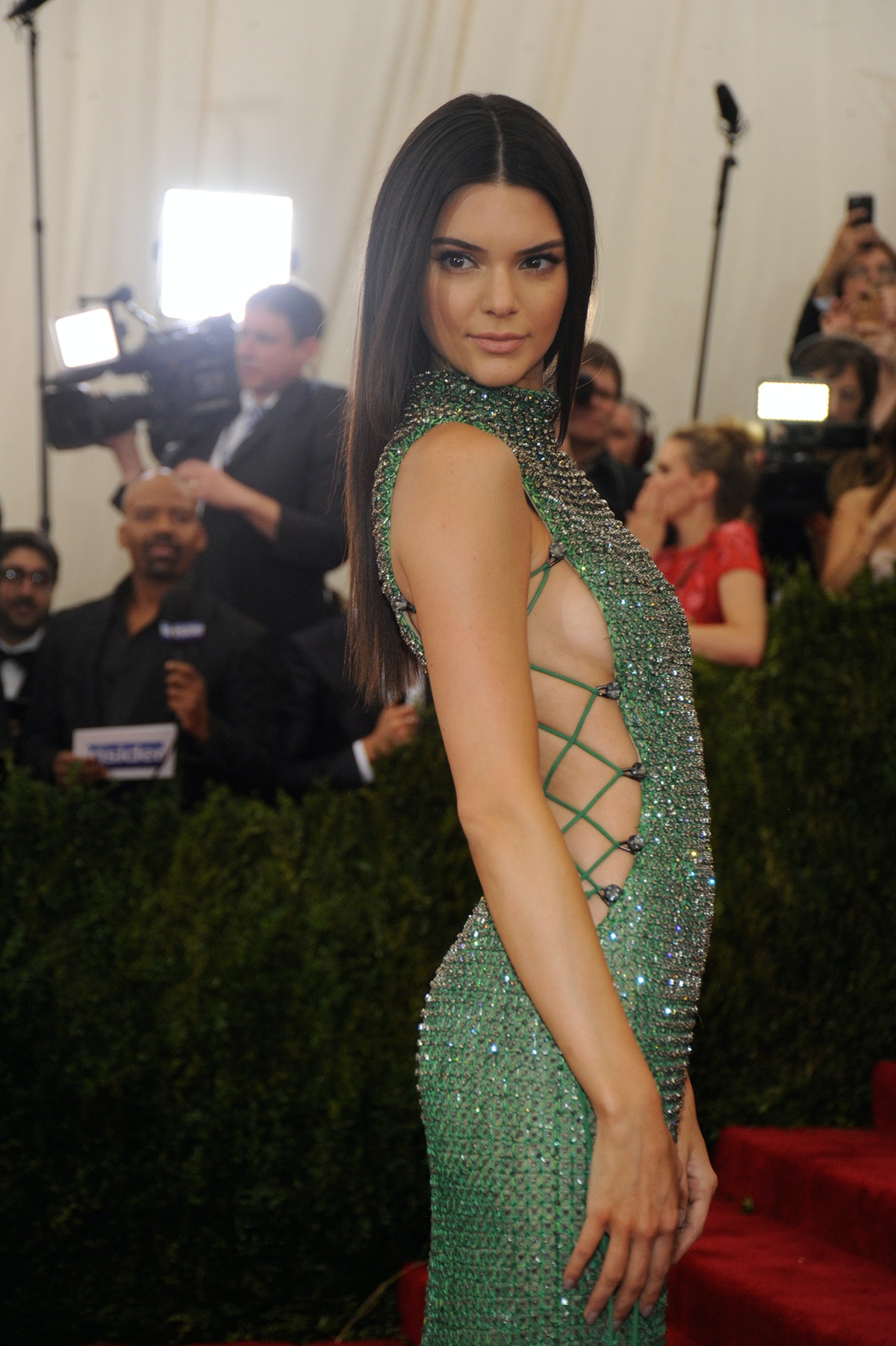 Kendall Jenner in Calvin Klein Collection
