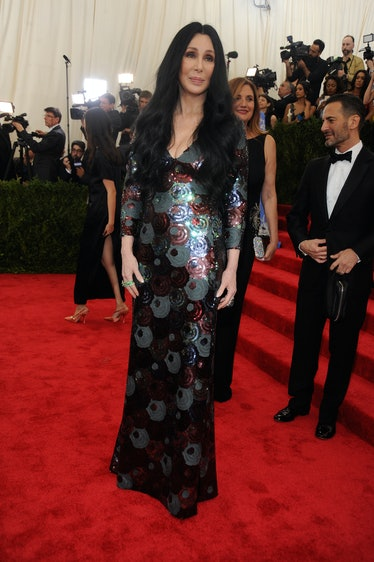 Cher in Marc Jacobs