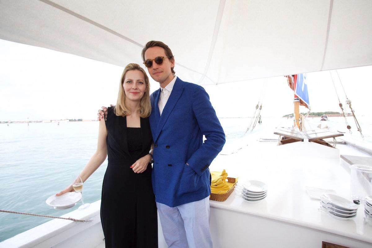 Aino-Leena Grapin and Alexander Gilkes