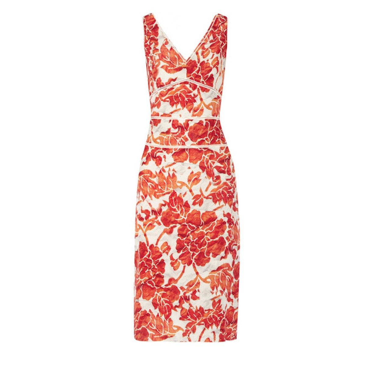 Altuzarra Gabrieli floral-print silk crepe de chine dress