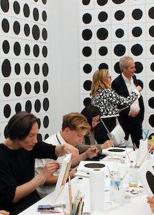 "Jonathan Horowitz's ""700 Dots"" at Gavin Brown's Enterprise"