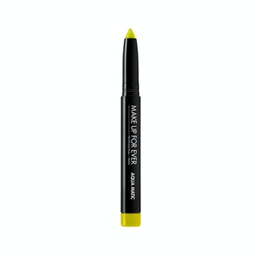 Make Up For Ever Aqua Matic Waterproof Glide-On Eye Shadow in Iridescent Lime Green