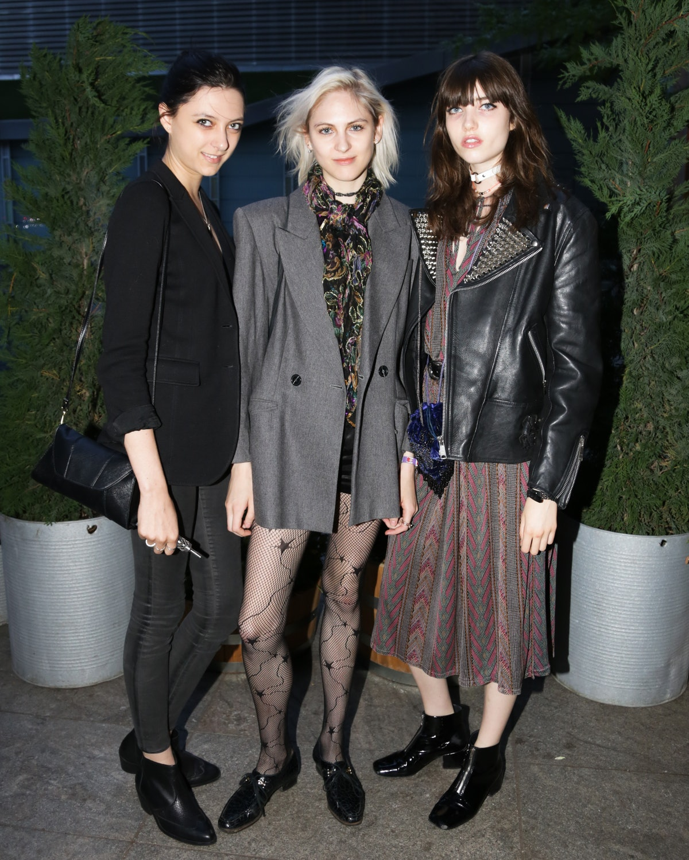 Sarah Engelland, Lida Fox and Grace Hartzel