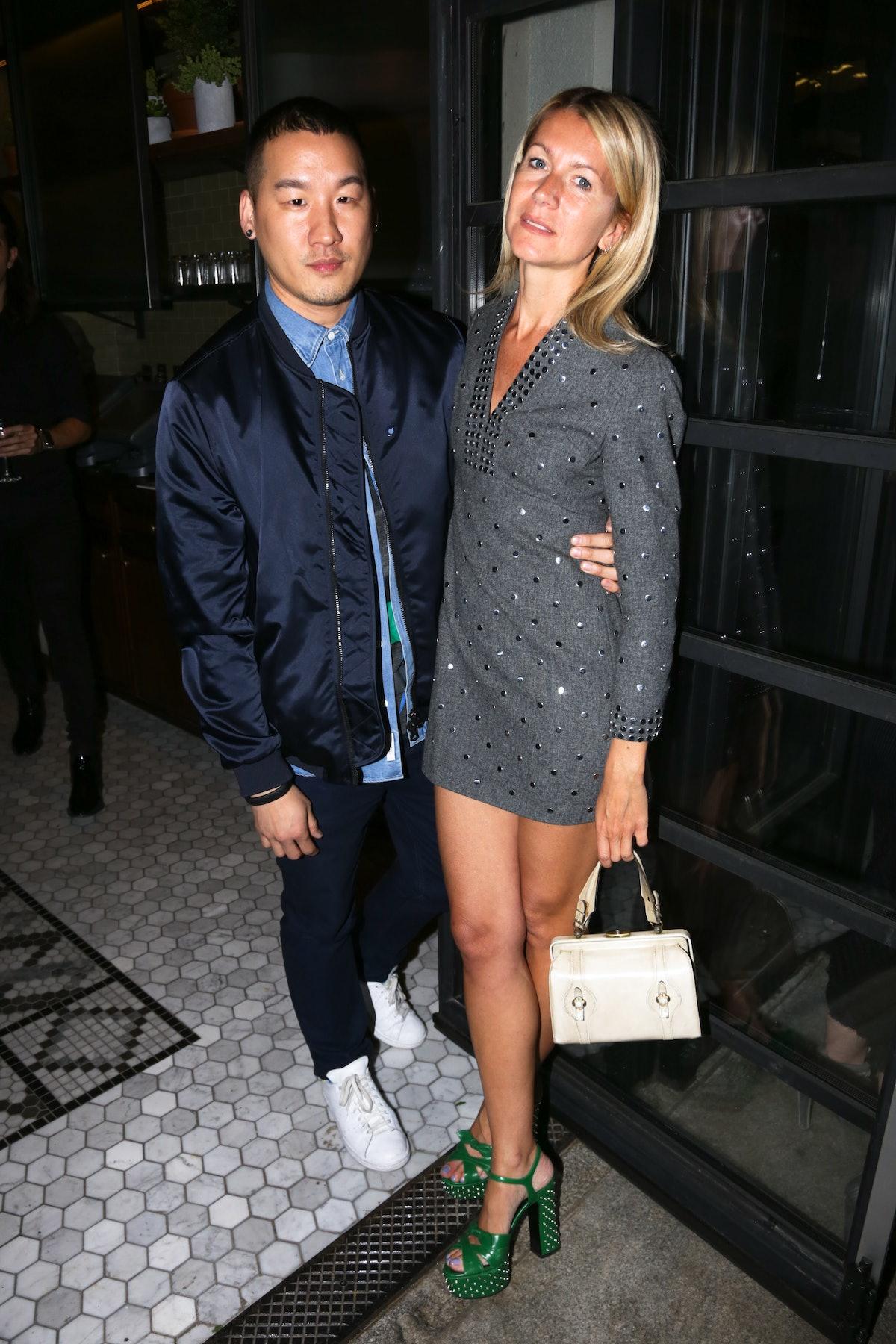 Richard Chai and Natalie Joos
