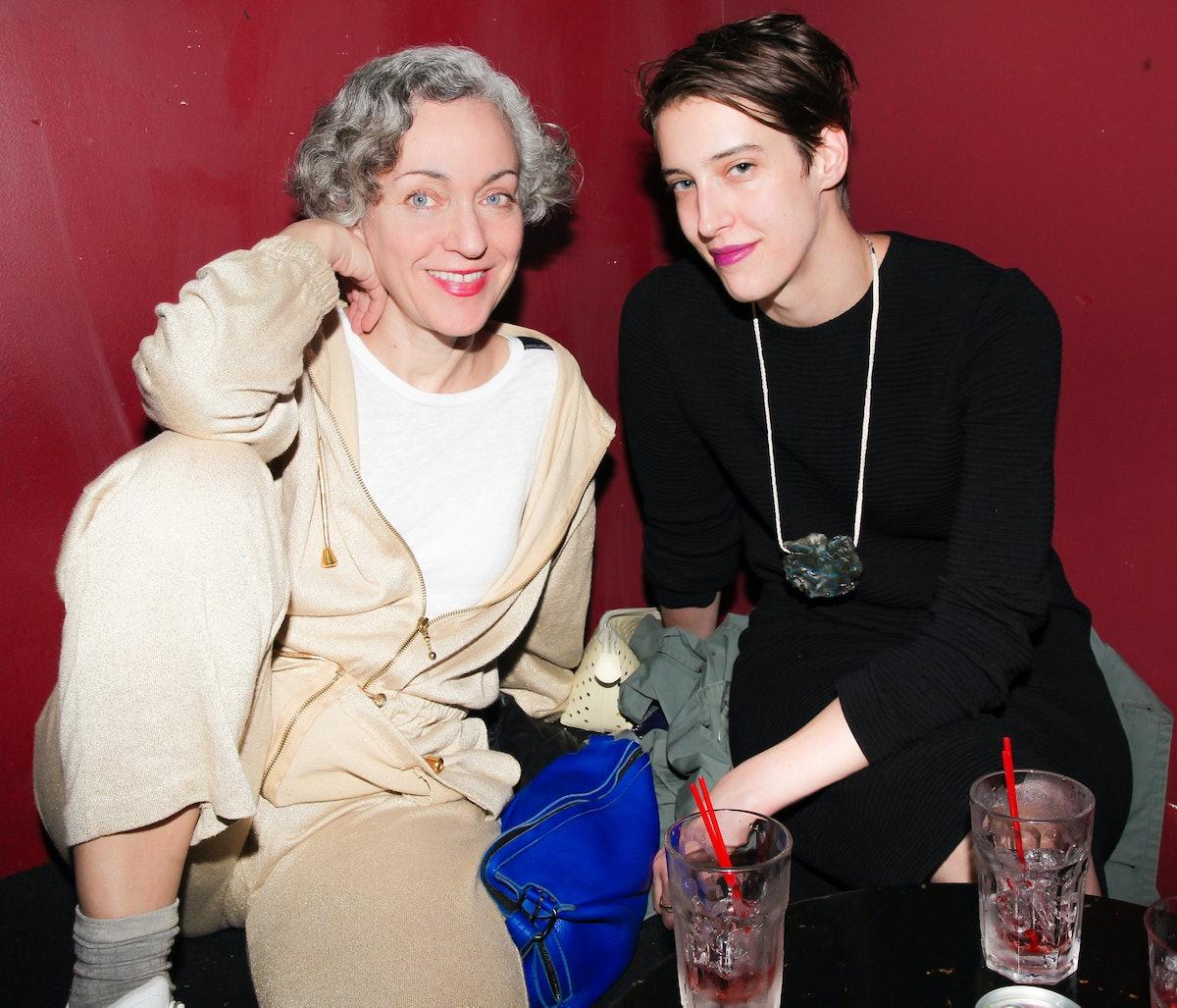 Cheryl Donegan and Kyla Chevrier