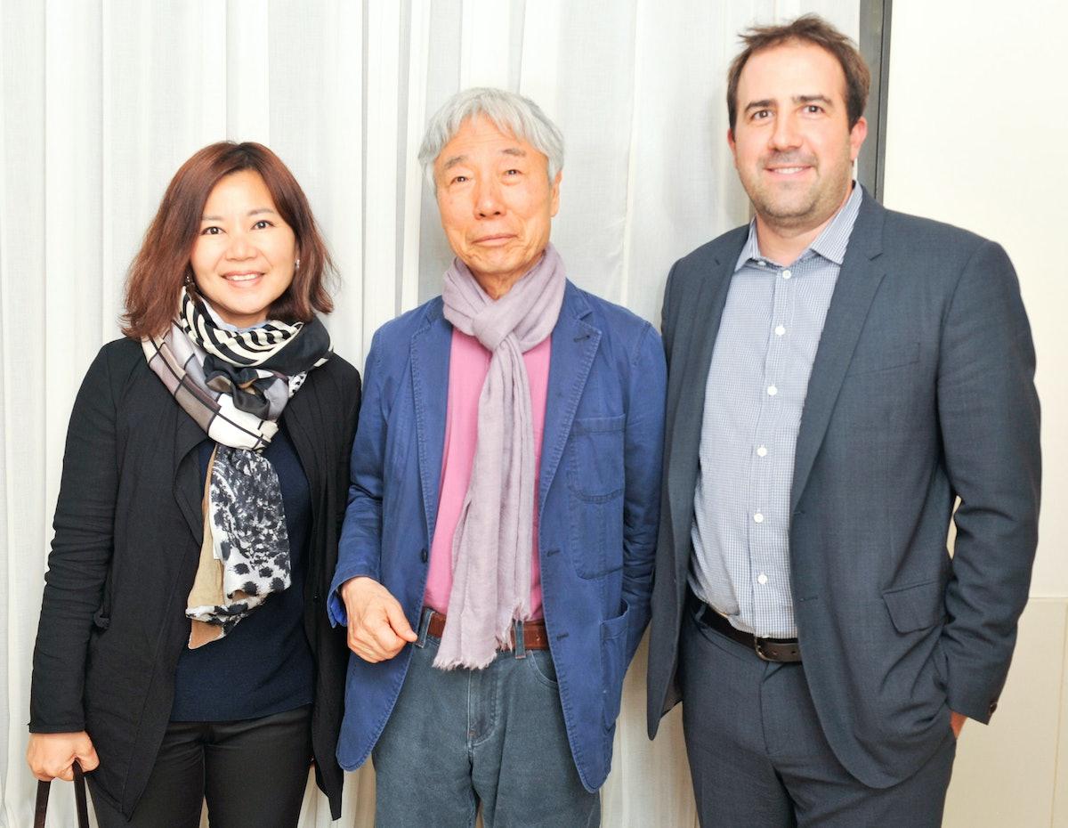 Esra Joo, Lee Ufan, and Joe Baptista