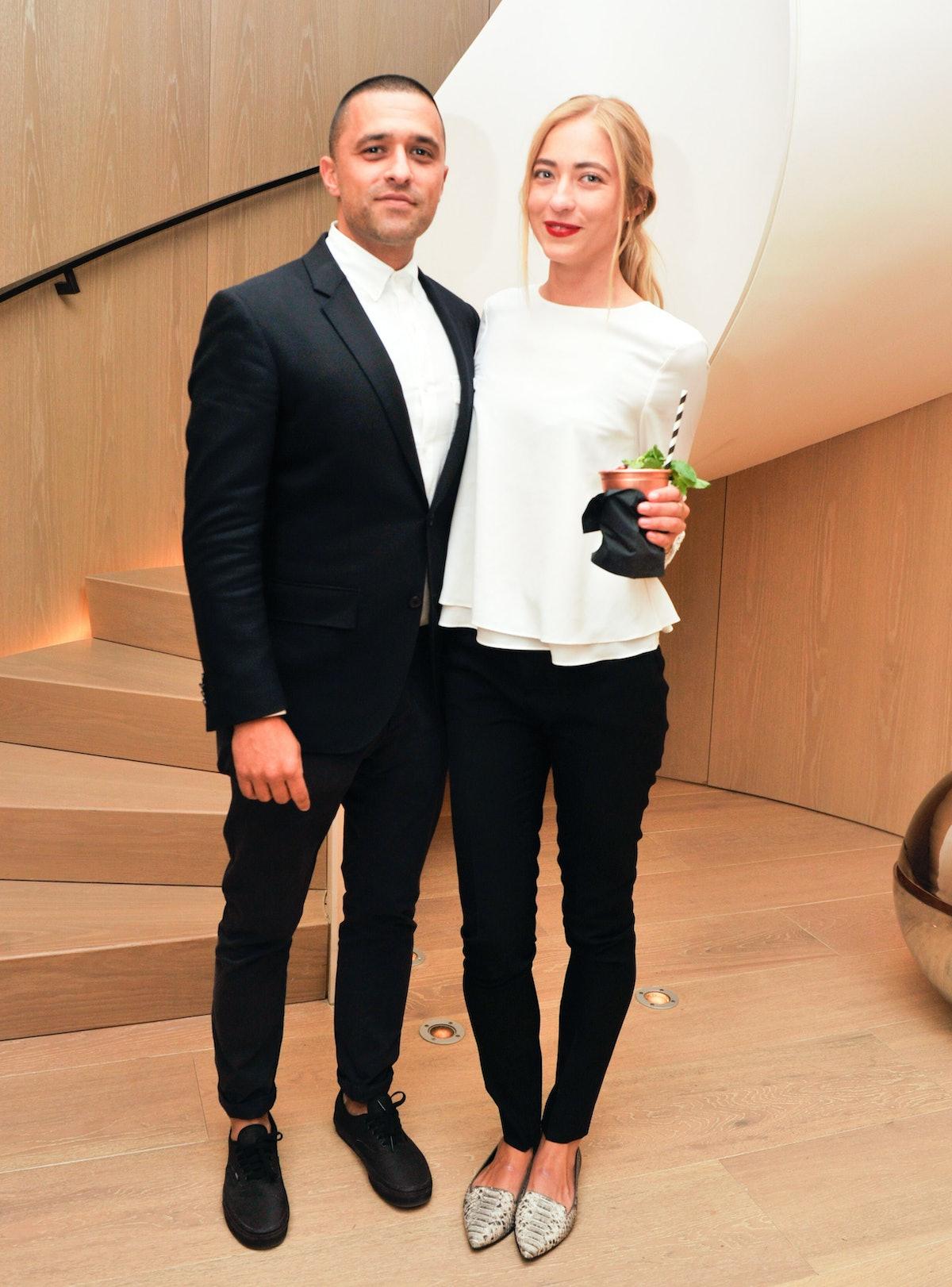 Ben Pundole and Alina Kohlem