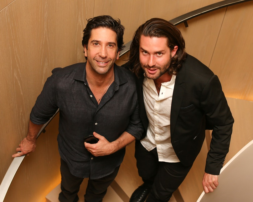 David Schwimmer and Phil Winser