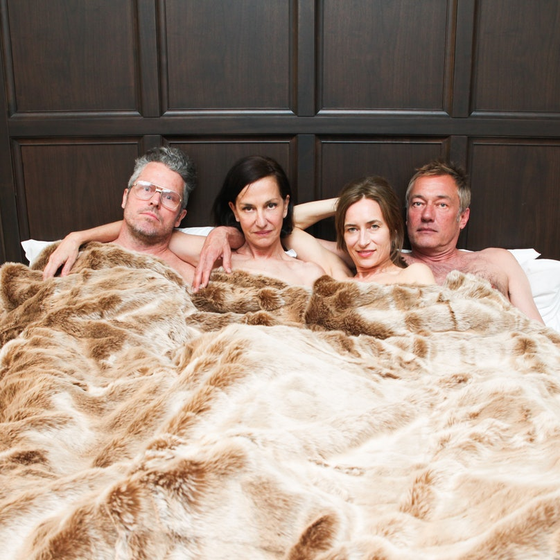 Bill Powers, Cynthia Rowley, Josephine Meckseper, and Hunter Hill