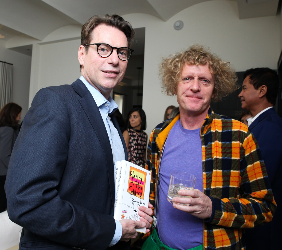 David Maupin and Grayson Perry