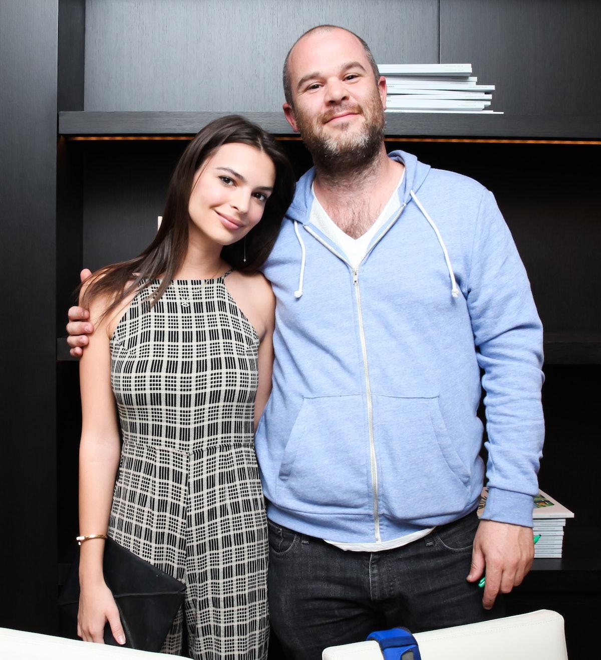 Emily Ratajowski and Jonas Wood
