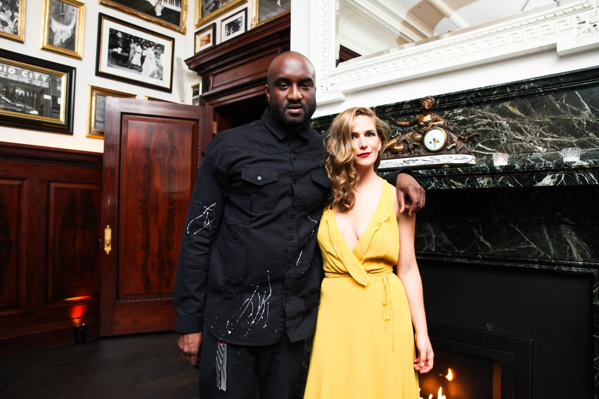 Virgil Abloh and Claire Distenfeld