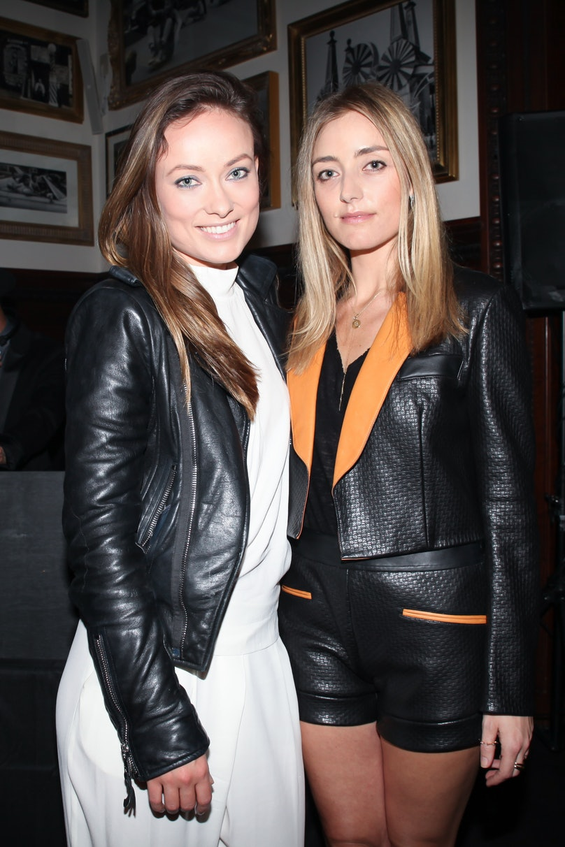 Olivia Wilde and Barbara Birchfield