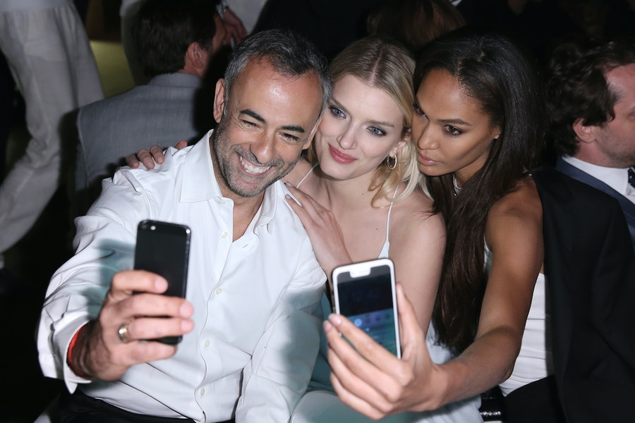 Francisco Costa, Lily Donaldson, and Joan Smalls