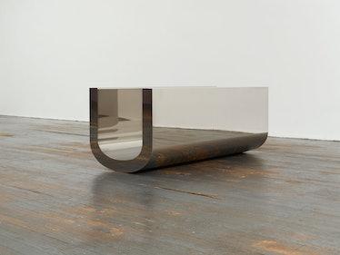 Wade Guyton's U Sculpture