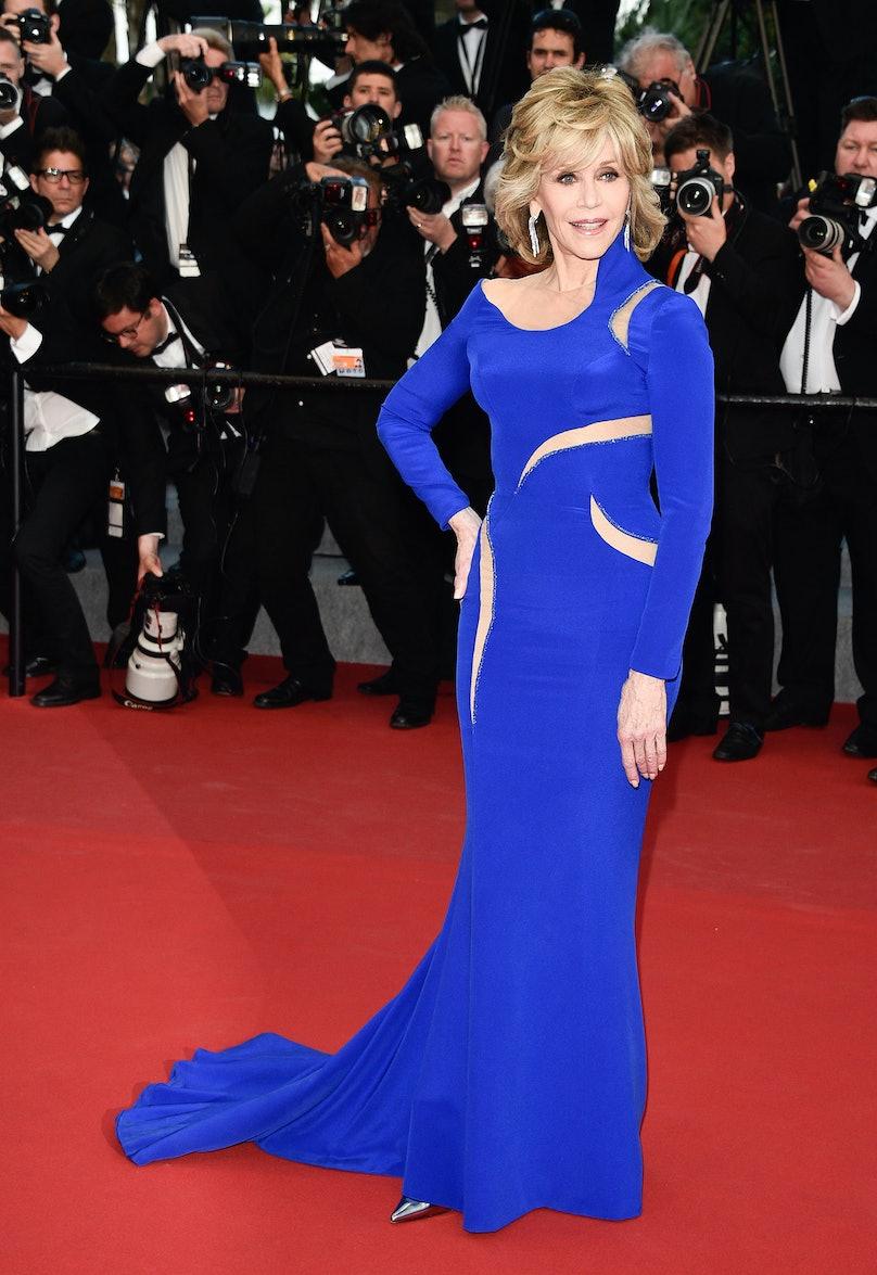 Jane Fonda Cannes