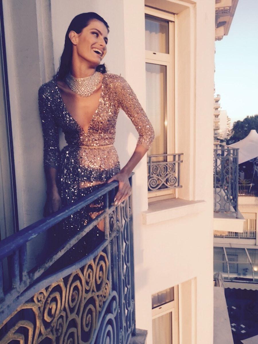 Isabeli Fontana at Cannes