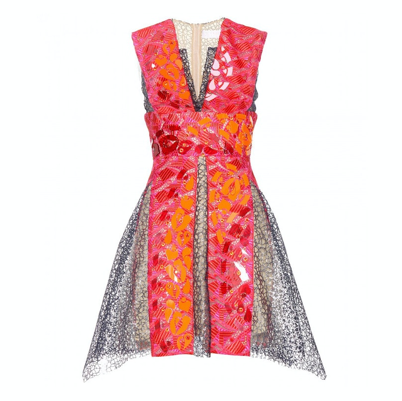 Peter Pilotto Phoenica embellished lace dress