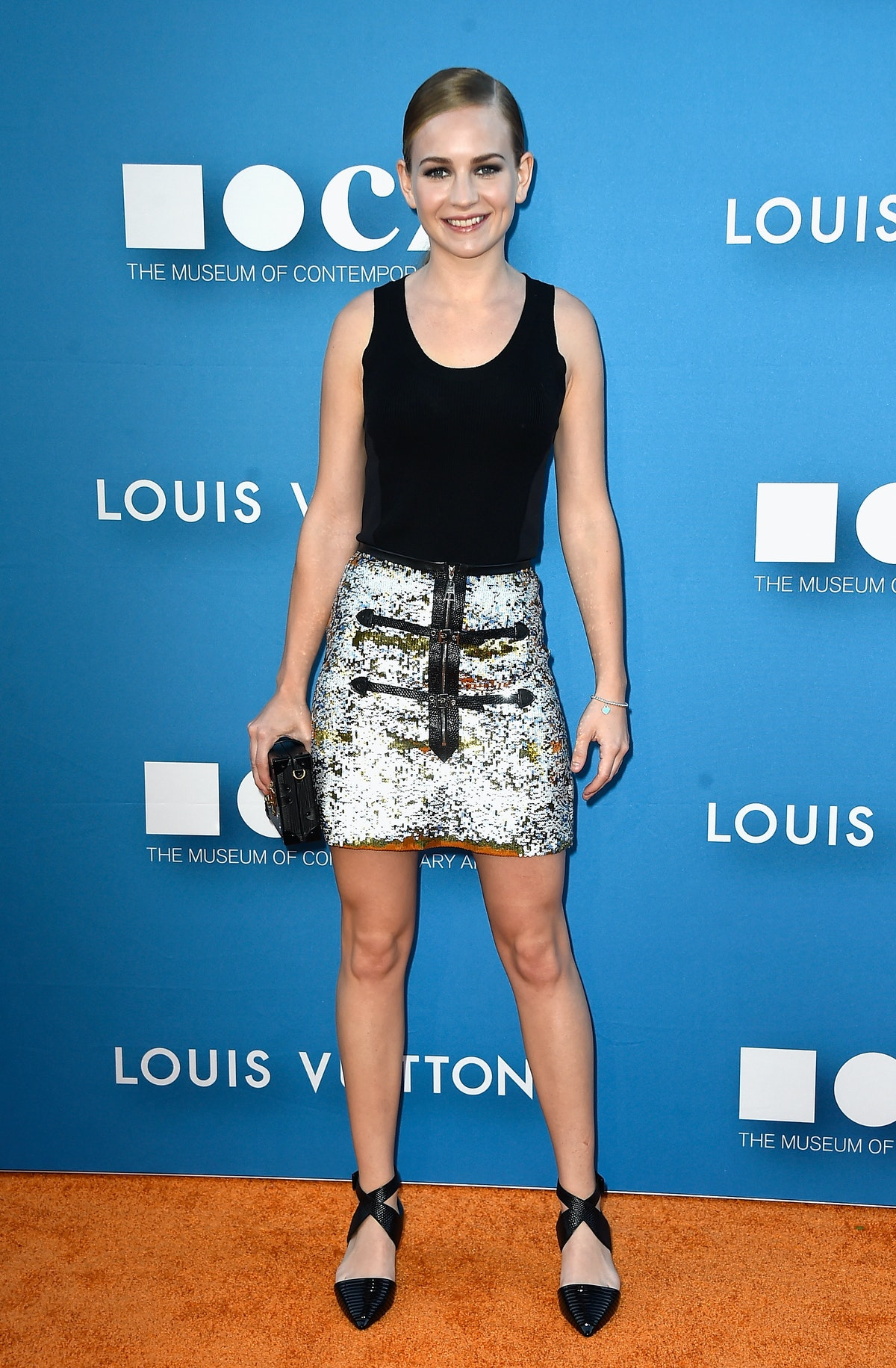 Britt Robertson in Louis Vuitton