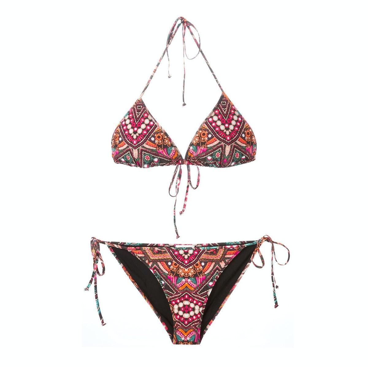 Athena Procopiou, 'Indian Summer' triangular bikini