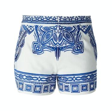 Emilio Pucci embroidered shorts