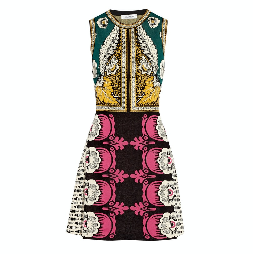 Valentino printed dress