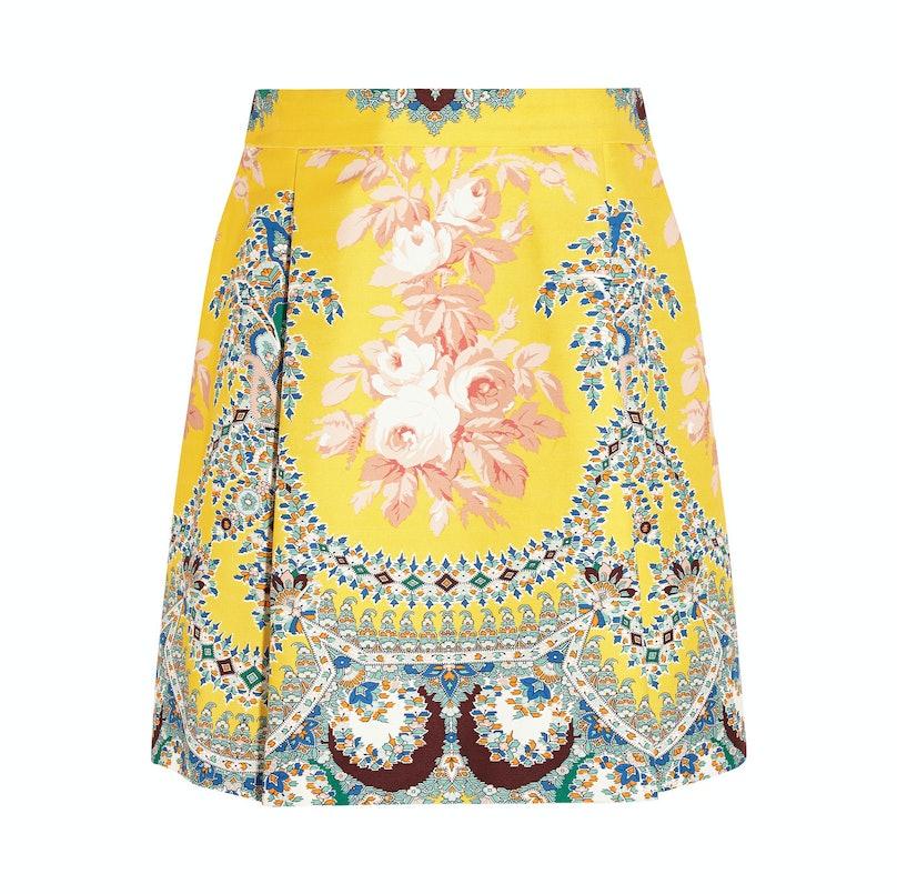 MSGM printed miniskirt
