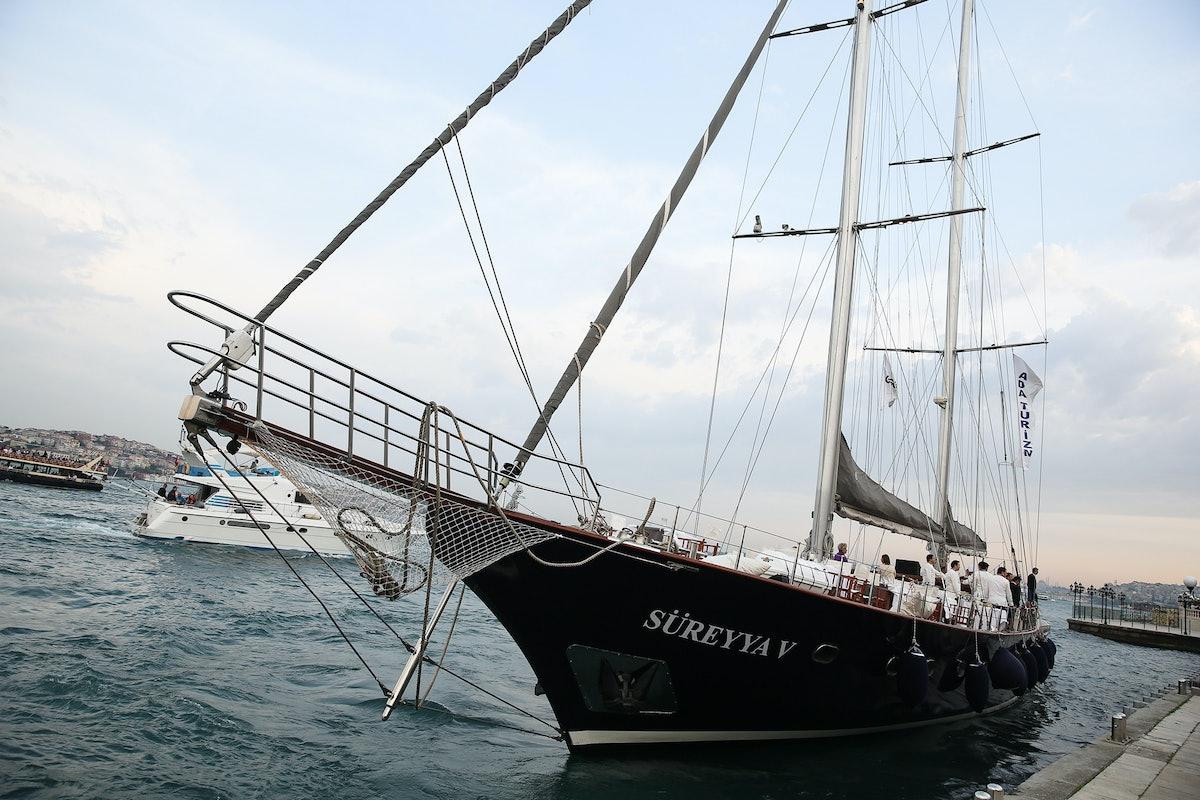 ISTANBUL'74 / IST. Festival 2015 Farewell Boat Trip and Dinner hosted by Ayse Ege, Ece Ege & Demet Muftuoglu Eseli