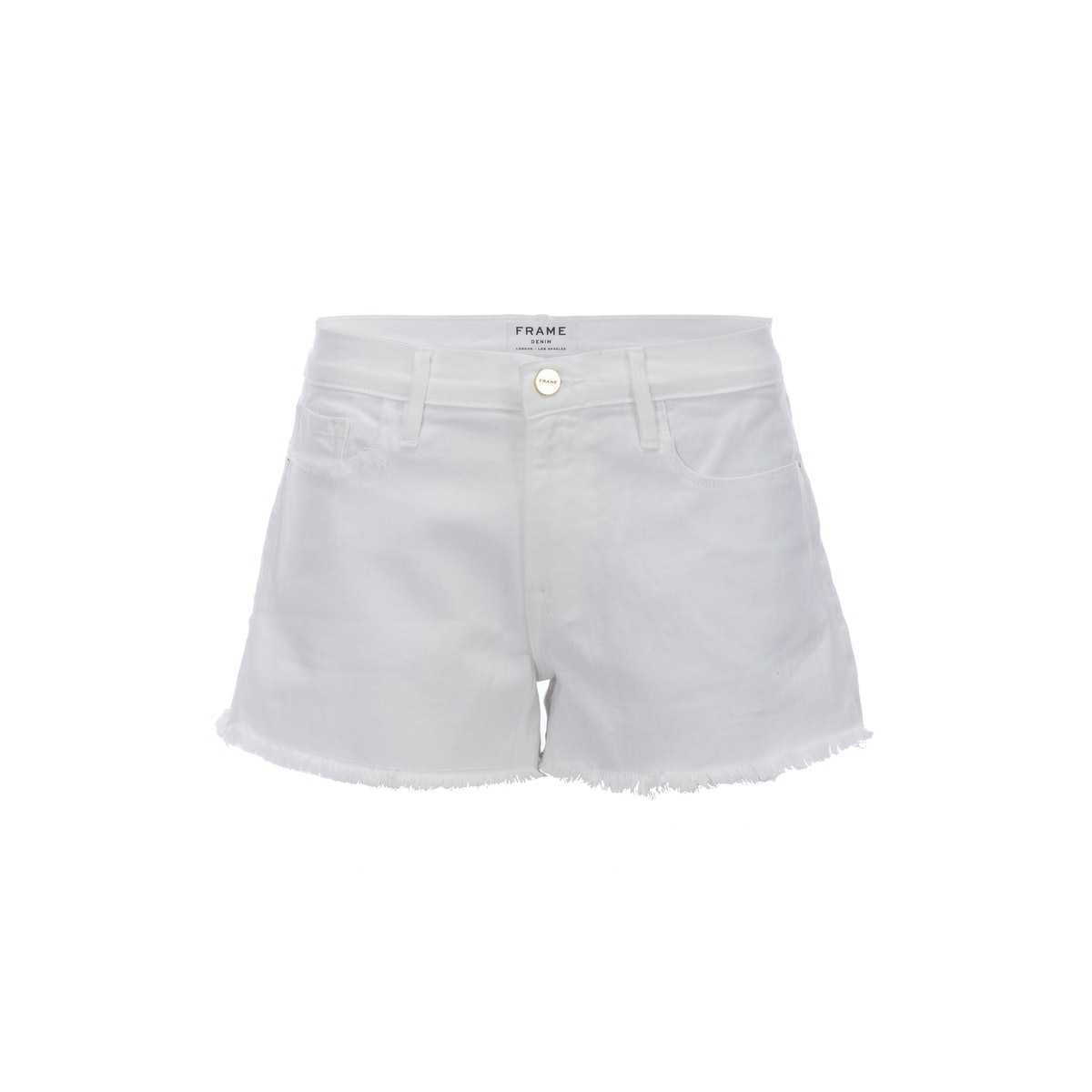Frame Exclusive short in white