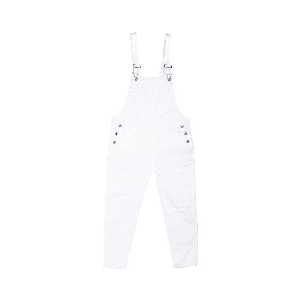 AG Jeans Finn Overall in white