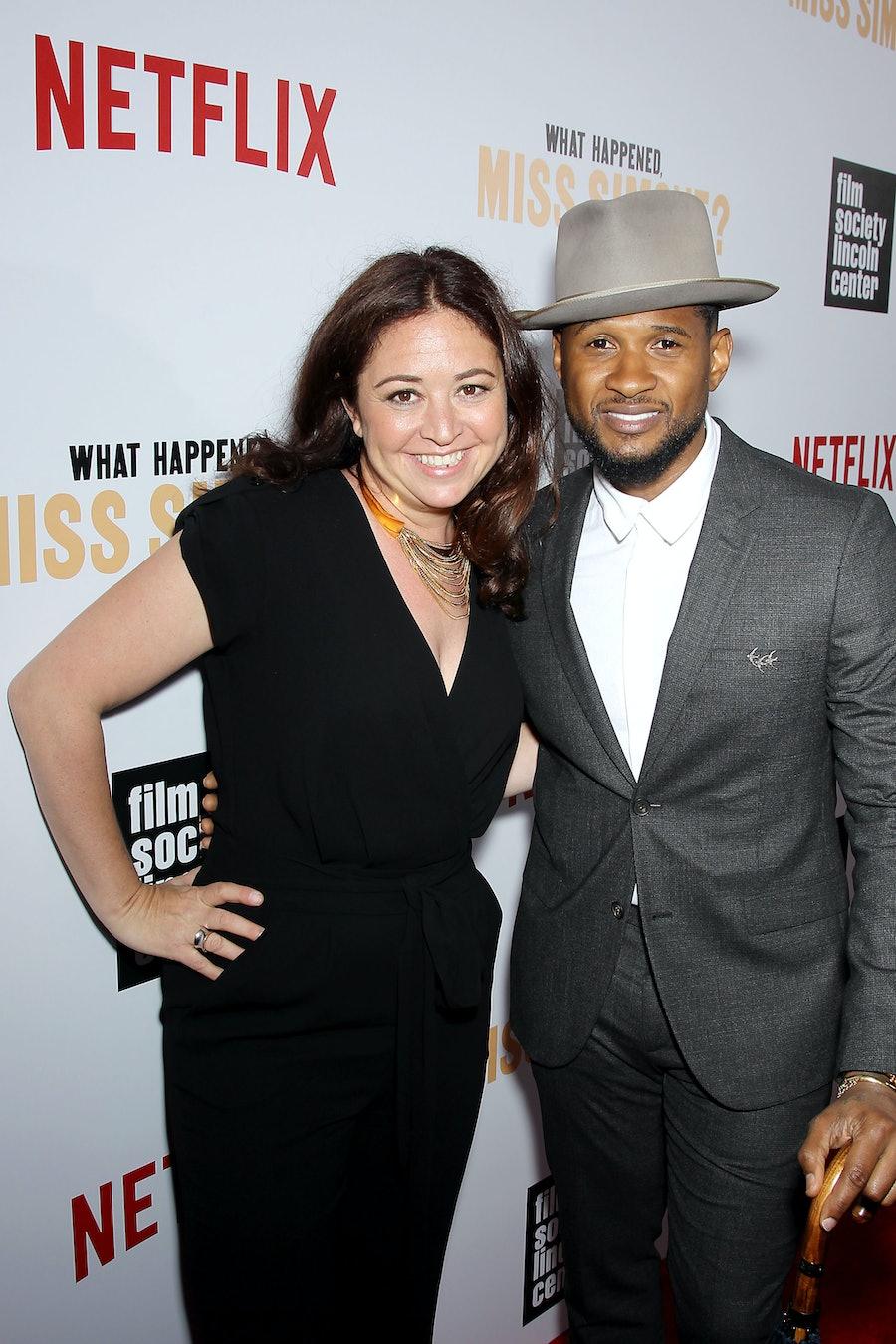 Liz Garbus and Usher