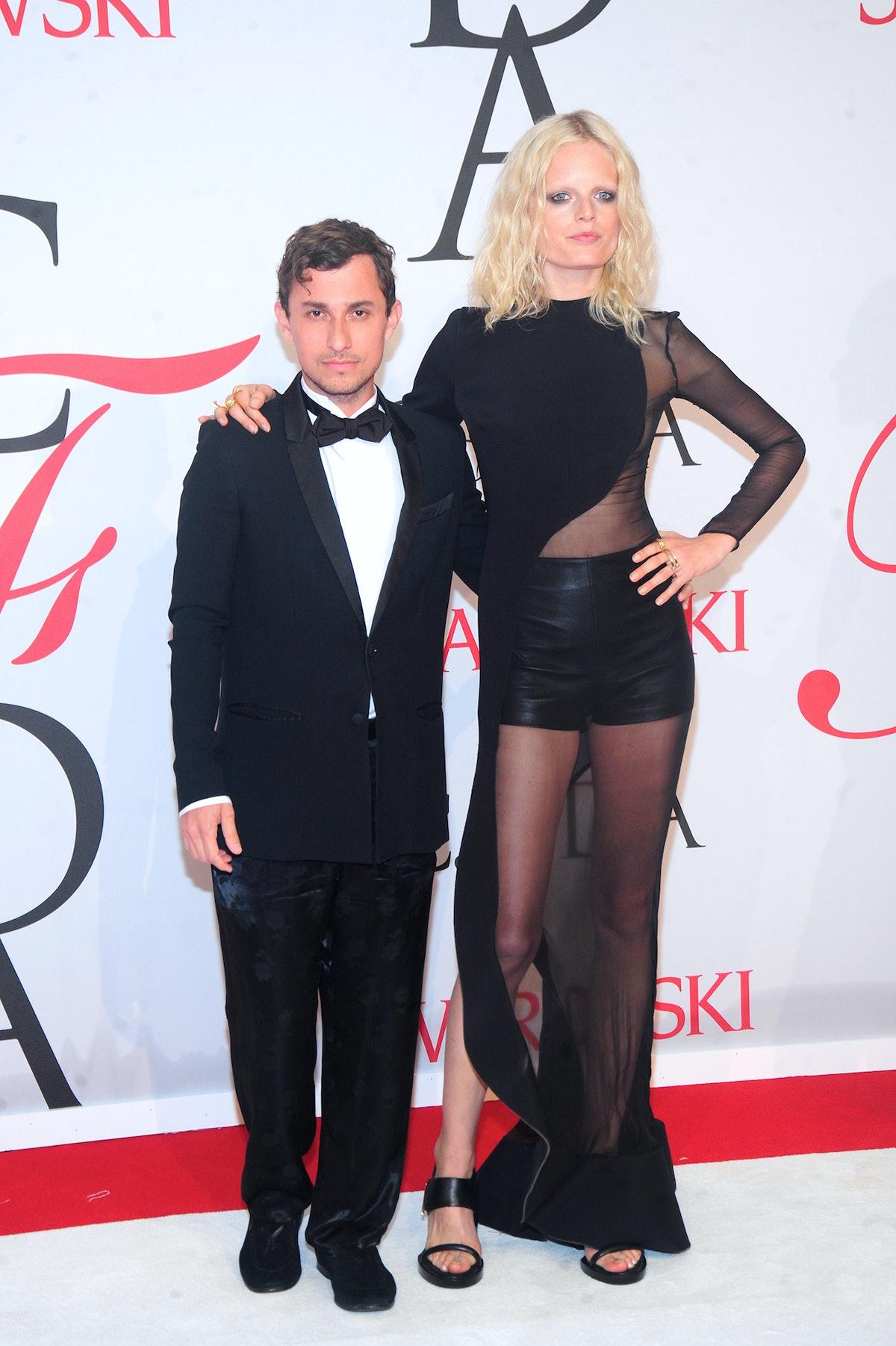 Esteban Cortazar and Hanne Gaby Odiele