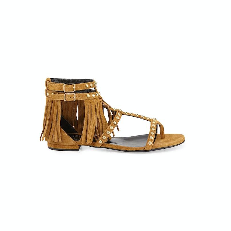 Saint Laurent sandals, $995, neimanmarcus.com