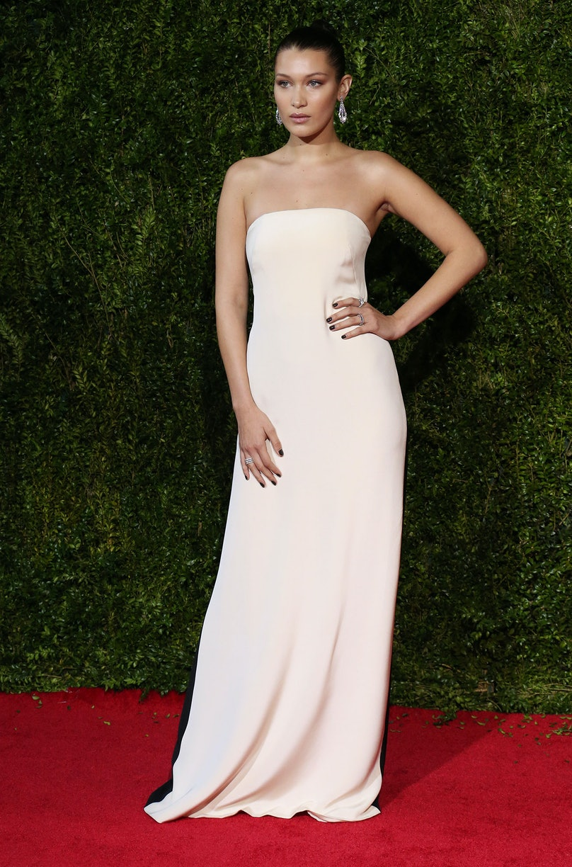 Bella Hadid Tony Awards