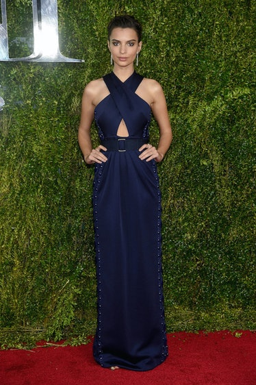 Emily Ratajkowski Tony Awards